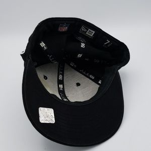 New Era Accessories - NFL New York Giants black hat sz 7 3/8 New Era
